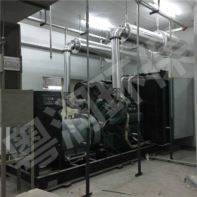 南昌绿地外滩公馆发电机房噪声治理